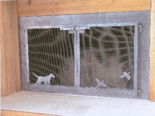 Bird Dog Fire Screen